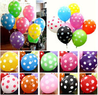 12-inch dot latex balloon birthday party wedding party decoration 20/50/100