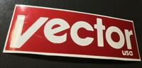 Vector USA BMX Decal Sticker  Old School Boss VDC Hutch Redline ACS Free Agent