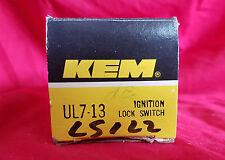 Ignition Switch Kemparts KEM UL7-13 FORD SW1561, SW1916, SW2479