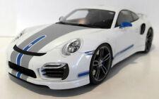 Véhicules miniatures blancs GTspirit pour Porsche