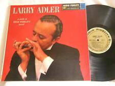 LARRY ADLER Ruby Braff Ellis Larkins Paul Motian Audio Fidelity MONO dg LP