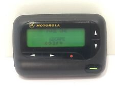 PAGEONE Motorola pager, working, possibly active number Vintage used