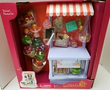 "New American Our Generation 18"" Girl Doll Farmers Market Fruit Vegetable Stand++"