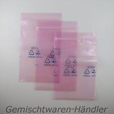 10 Antistatik ESD Beutel wiederverschließbar Verpackung 100 x 150 mm abschirm PE