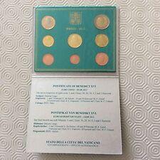 Coffret complet de 8 pièces Vatican 2013