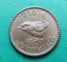More details for 1956 elizabeth ii farthing scarce #661