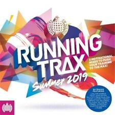 Ministry of Sound Running Trax Summer 2019 Various Artists 3 CD DIGIPAK NEW