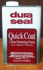 DuraSeal Quick Coat Penetrating Finish 1 Quart (32 floz) - True Black