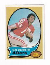 *1970 Topps #81 Gene Washington ROOKIE CARD SCARCE & SWEET!*