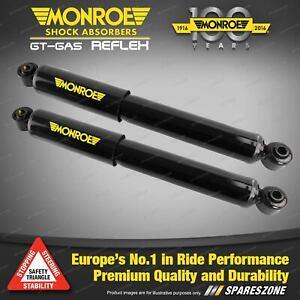 Pair Rear Monroe Reflex Shock Absorbers for PEUGEOT 206 16 vlave Hatchback 99-07