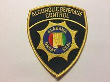 Alabama Alcoholic Beverage Control ABC Police Patch