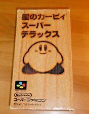 GAME/JEU SUPER FAMICOM NITENDO NES JAPANESE VERSION Star Kirby SHVC-P-AKFJ JPN