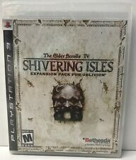 The Elder Scrolls IV: Shivering Isles (Sony PlayStation 3, 2007) NEW PS3 Game