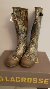 """Lacrosse 18"""" Burly Classic Hunting and Outdoors Boots Men's Size 10"""
