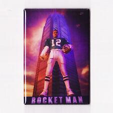 RANDALL CUNNINGHAM / ROCKET MAN - POSTER MAGNET (nike costacos eagles jersey qb)