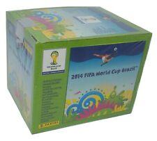 Brasil 2014 Edition Green Box 50 Packs Stickers panini World Cup