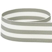 "5 yards  1.5"" Multiclored Stripes Taffy Woven Grosgrain Ribbon U Pick Color"