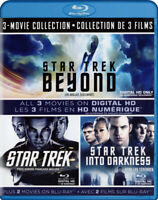 Star Trek 3-Movie Collection (Blu-ray / Digita New Blu