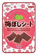 Natori umeboshi sheet Salted plum sheet 10g From Japan