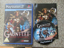 SONY PLAYSTATION 2 PS2 GAME GAUNTLET SEVEN SORROWS