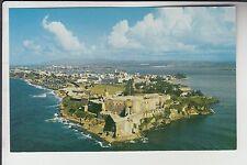 Aerial View El Morro Castle San Juan Porto Puerto Rico PR   16399