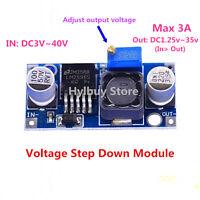 LM2596 DC-DC 4V-35V to 1.23V-30V Step Down Power Module Voltage Regulator 3A