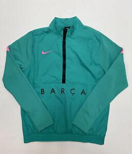Nike Barcelona Track Jacket Woven 20/21 Green/Pink Beam Men's M CK8486-396