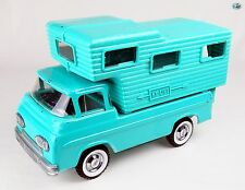 Awesome 1960 Nylint Co. Vintage Aqua Green Turquoise Camper Truck Van