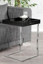 Table d'appoint Table basse confort noir + chromé M Plateau design table DEPOSE