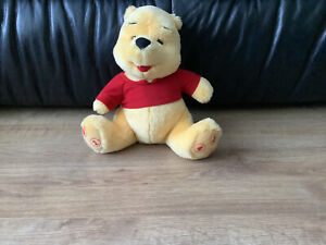 """Winnie The Pooh Talking 10"""" Bear With Numbers"""