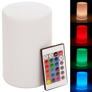 Colour Changing LED Mood Lighting Bedside Night Light Table Lamp Home Decoration