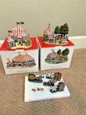 Liberty Falls Circus Big Top, The Side Show Tent & Circus Train (Htf)