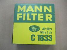 MANN-FILTER Luftfilter C 1833 für FORD ESCORT 1 AFH ATH FIESTA GFBT Turnier ADH