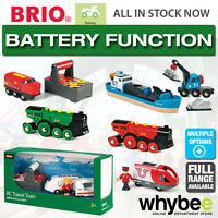 BRIO Railway Battery Function Full Range of Wooden Toys Children Kids 3-5yrs