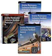 FAA Aviation Maintenance Technician Airframe, General & Powerplant Book Set