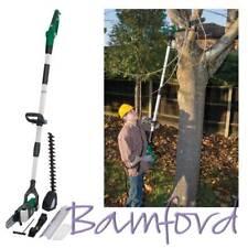 Draper Long Reach Electric Polesaw & Hedge Trimmer Garden Power Tools 230V 800W
