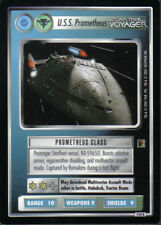 STAR TREK CCG THE BORG RARE CARD U.S.S. PROMETHEUS (federation)