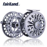 Fly Reel FF1/2 3/4 5/6 7/8 9/11 Aluminum Alloy Steel Fishing Wheel +Spare Spool