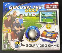 NIB Golden Tee Golf Video Game Arcade Golf TV Game 1-4 Players - Sealed