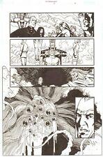 Establishment #13 p.19 - Whole Team vs. Giant Ugly Monster art by Charlie Adlard Comic Art