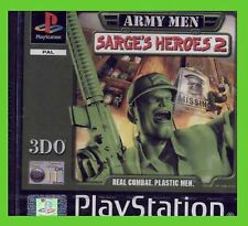 ARMY MEN SARGE'S HEROES 2 ITA playstation 1 ps1 SIGILLATO new sealed play1