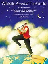 Sifflet autour du monde apprendre à jouer Pennywhistle Flûte MUSIC BOOK & CD