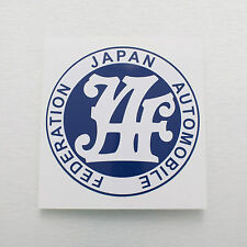 JAF japan automobile federation Sticker Decal TOYOTA CELICA TA22 COROLLA KE20