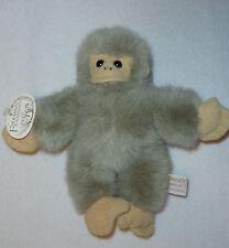 "Folkmanis Folkmini's Tan Stuffed Animal Plush Monkey 9"" NWT"