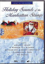 TRADITIONAL CELTIC CHRISTMAS (MANHATTAN STRINGS) CD+DVD
