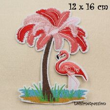 FEUILLE NATURE SEQUIN ECUSSON PATCH thermocollant 8 x 9 cm au choix