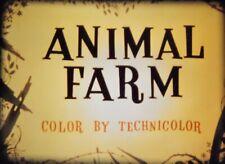 16mm animated feature:  ANIMAL FARM (1954).  Beautiful LPP print!  Wowzer color!