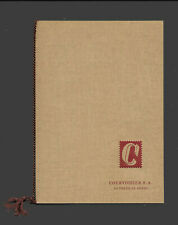KG07 - HAITI 1954 Prestige courvasier booklet set with postal & airpost stamps