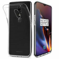 Cover case shell tpu transparent soft gel silicone for oneplus 6t