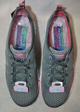 Skechers Women's Glider Forever Young Gray/Coral Athletic Shoes-Asst Sizes NWB